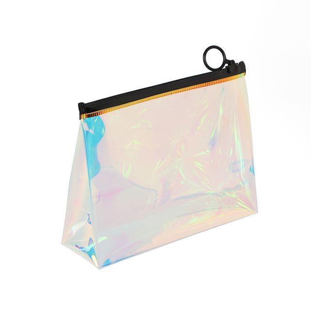홀로그램 파우치 수영가방 투명파우치 투명지퍼백