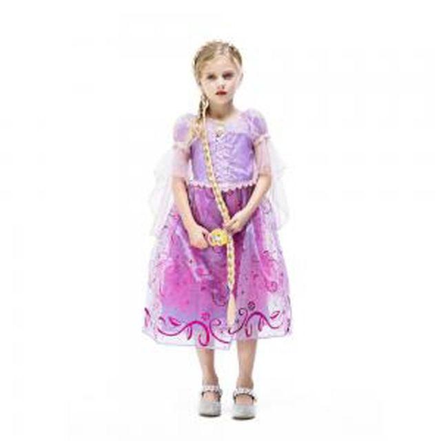 할로윈 의상 아동 여아 공주 라푼젤 코스듐 드레스