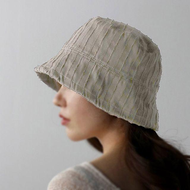 W 가볍고 편한 캐주얼 데일리 외출 여성 벙거지 모자