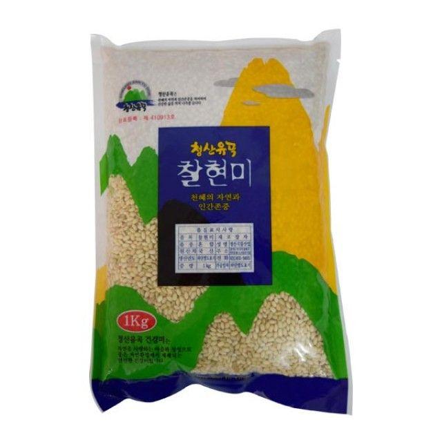 청산유곡 찰현미 1kg,찹쌀,잡곡,청산유곡찹쌀,청산유곡,식품