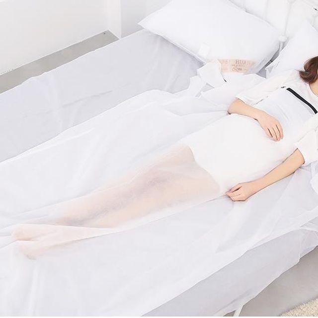 W 키밍 일회용 침대시트 베개 위생 커버 여행용 방역