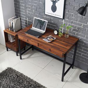 노블 멀바우 책상