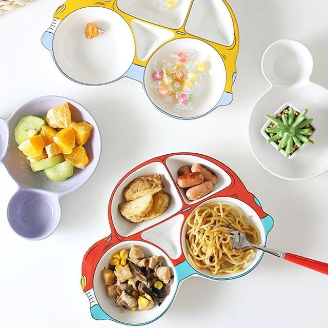 [해외] 주방용품 식판 귀여운 아기 방울 방지 세트
