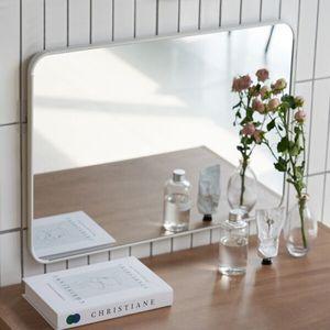 무타공 사각거울 화장대 침실 미러 벽걸이 인테리어