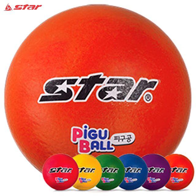 스타 피구공 폼볼 3호 6색상 B0280