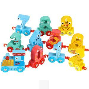 어린이집 유치원 학원 유아 교육 교구 숫자 기차 놀이