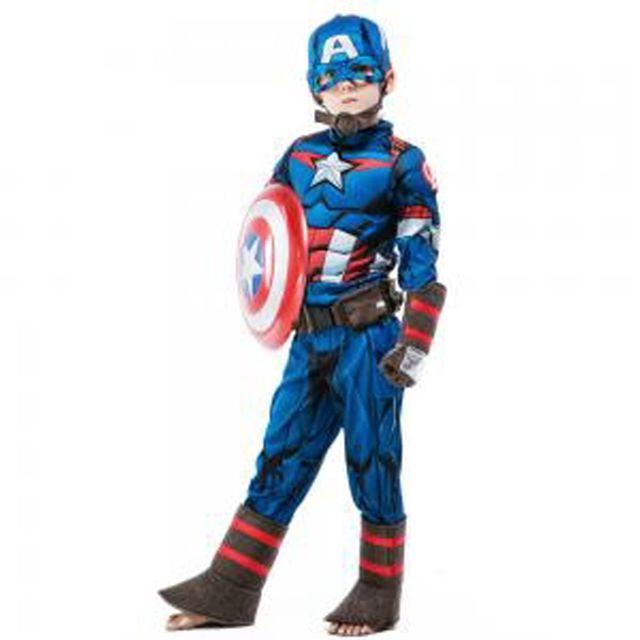 할로윈 의상 아동 남아 캡틴아메리카 코스튬 분장