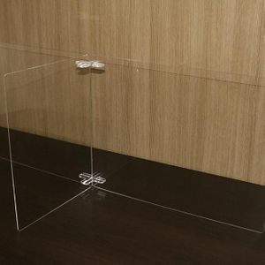 투명 가림막 2인 아크릴 칸막이 간편
