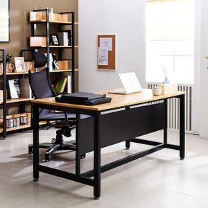 1500 일자책상 T3 강화스틸 사무용 테이블 컴퓨터상