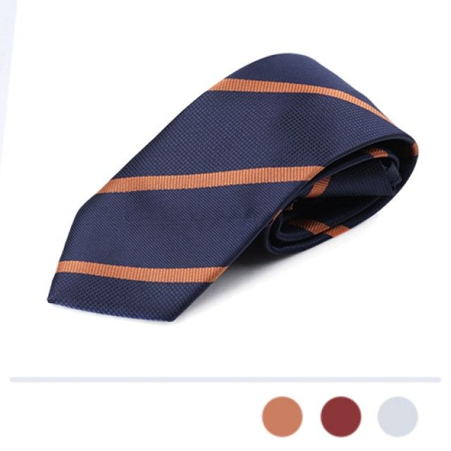 韩国直邮 四线斜线领带