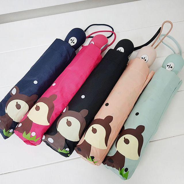 공용 기능성 3단 완전 자동 우산 블랙 기념품 선물