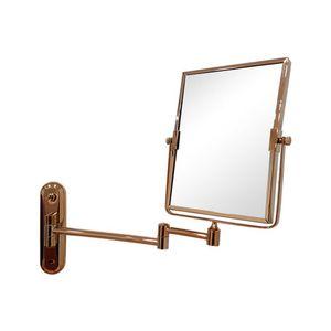티니 사각 면도경 로즈골드 면도거울 욕실거울 벽거울