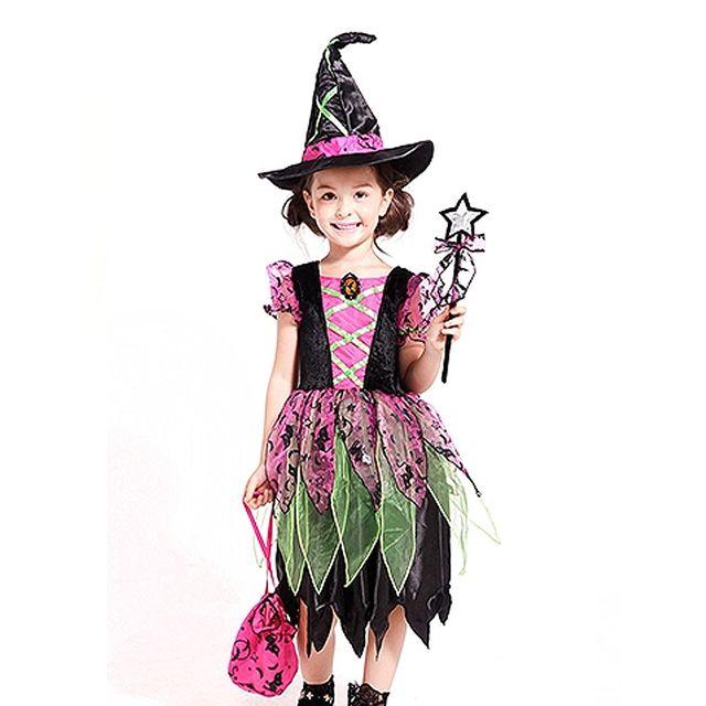 할로윈 숲속마녀 4종세트-핑크-S