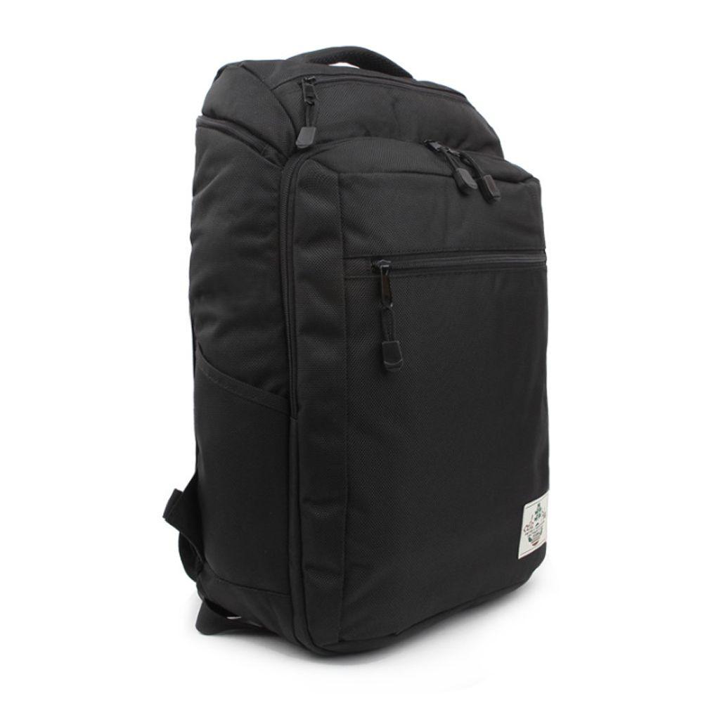 학생 캔버스 백팩 캐주얼 책가방 노트북 검정 가방
