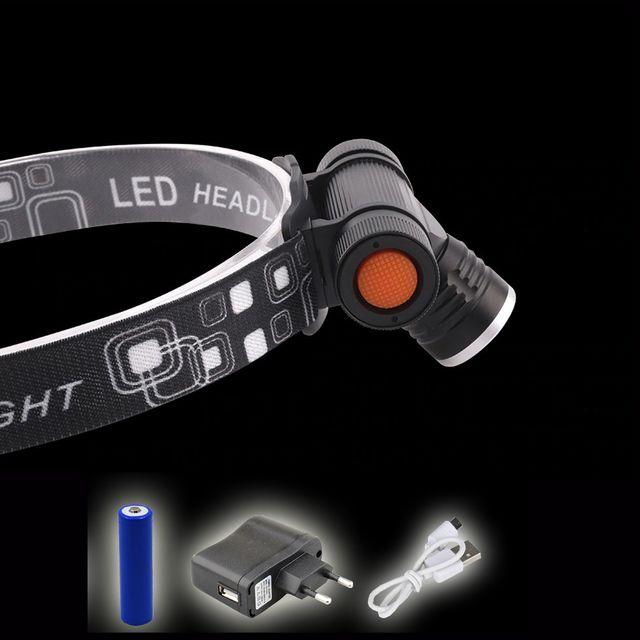 넓은광폭 밝은광량 LED 충전식 헤드랜턴 L2 랜턴 줌