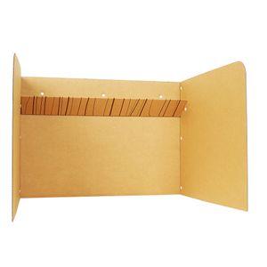 공부집중 칸막이 상단선반형 독서실책상