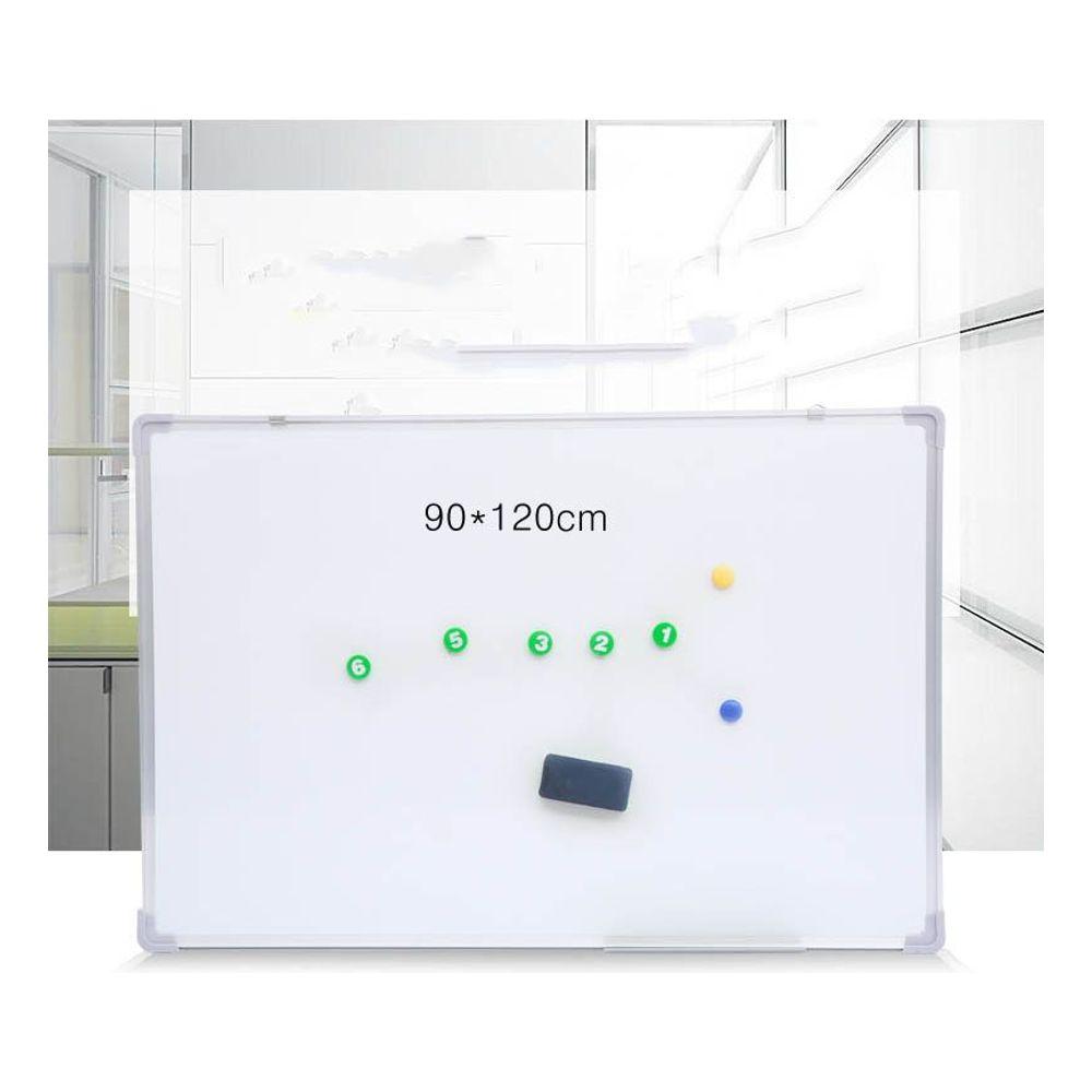 [더산직구]보드가로120cm 세로90cm 벽걸이식 한면 화이트보드/ 배송기간 영업일기준 7~15일