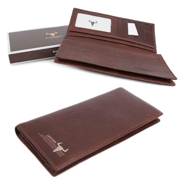 남성 선물 고급 포장 인기있는 패션 장지갑 클러치