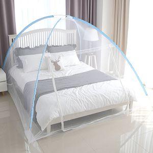 원터치모기장 4~5인용/모기장 아기사각 캐노피 침대