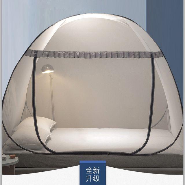 [해외] 원터치 침대 모기장 텐트