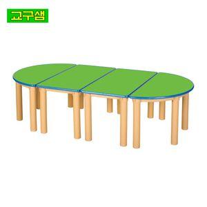 어린이 안전 무늬 책상H530 H48-1