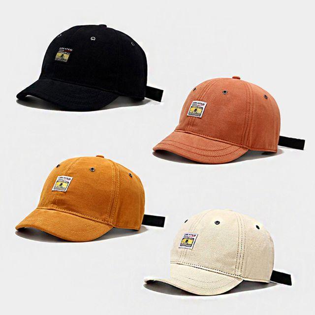 W 숏챙 남성 여성 데일리 패션 일반캡 인기 모자