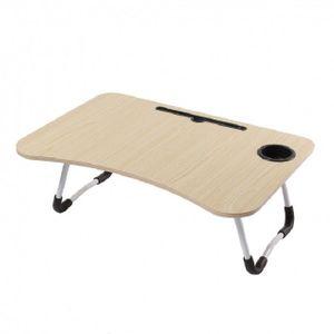 태블릿컵홀더 접이식 좌식테이블 베이지
