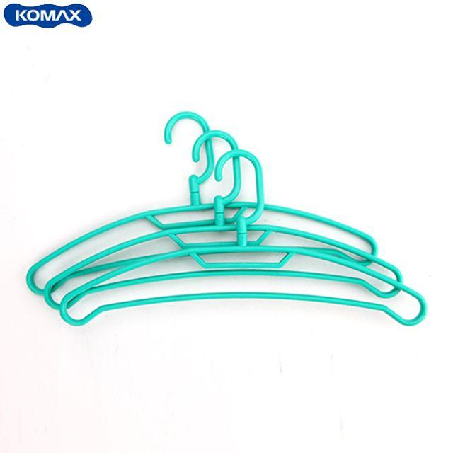 코멕스 센스 옷걸이(3pcs)-그린 [제작 대량 도매 로고 인쇄 레이저 마킹 각인 나염 실크 uv 포장 공장 문의는 네이뽕]
