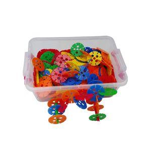 유아 만들기 장난감 블록 왕꽃잎 블럭 리빙 박스 선물