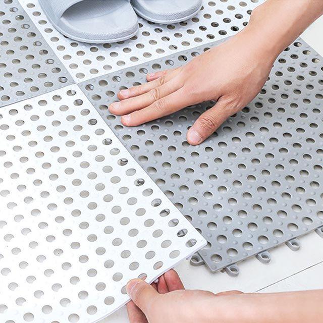 욕실 미끄럼방지매트 화장실 조립식매트 (KC인증)