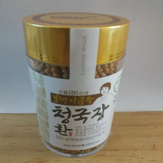 W2F29CD보성전통 청국장 환(백태) 500g,식품,농수산물,반찬,장류,청국장