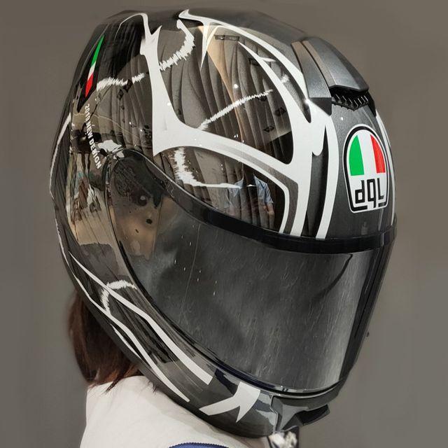 [해외] dgl 오토바이 헬멧 전체 얼굴 헬멧