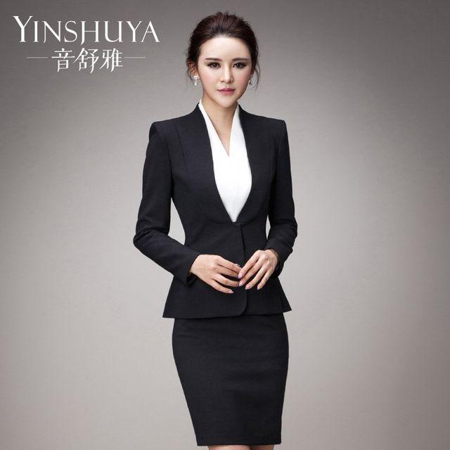 [해외] 여성 패션 재킷 자켓 정장세트스 정장 착용 기질