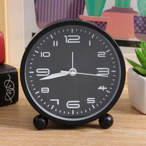 건전지 알람시계 탁상시계 원형 심플한 클래식 아날로
