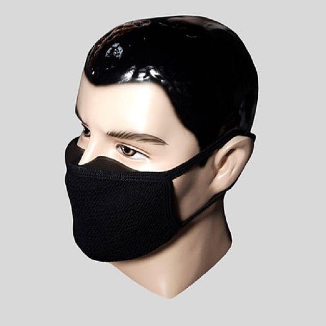 포가드 안경 김서림방지 마스크 먼지 냄새차단 실리콘필터 자전거 담배냄새 패션 검정