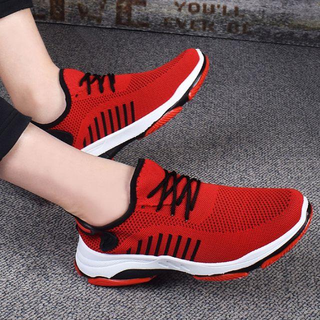 W 남성 스포츠 신발 가벼운 메쉬 운동화 달리기 런닝화