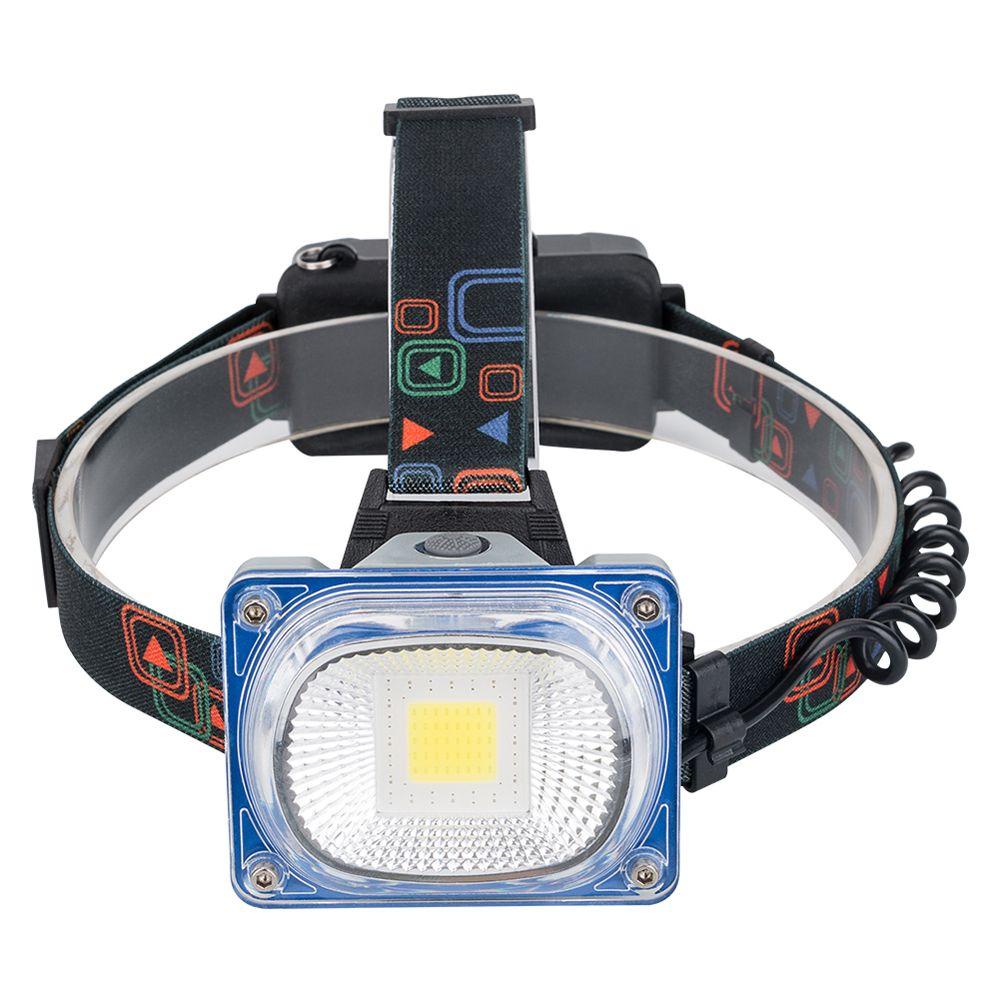W11637ECOB LED 충전식 헤드랜턴 해루질 등산 낚시 10W WL606