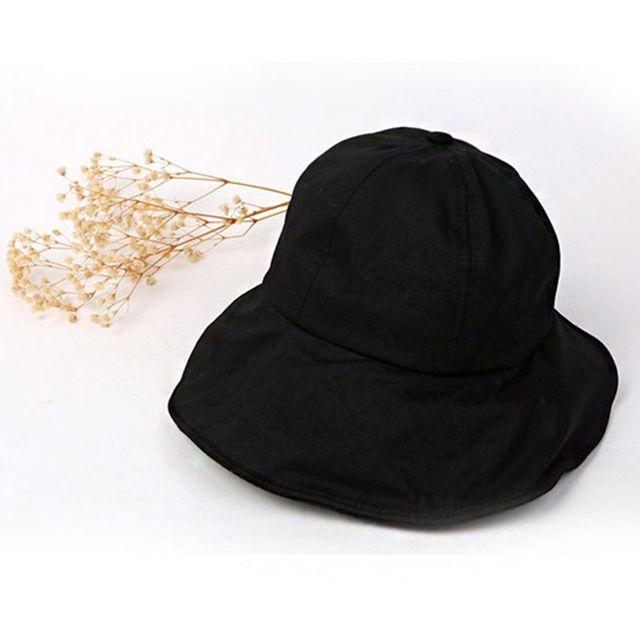 W 여성용 외출 필수품 찍찍이 버킷햇 벙거지 모자