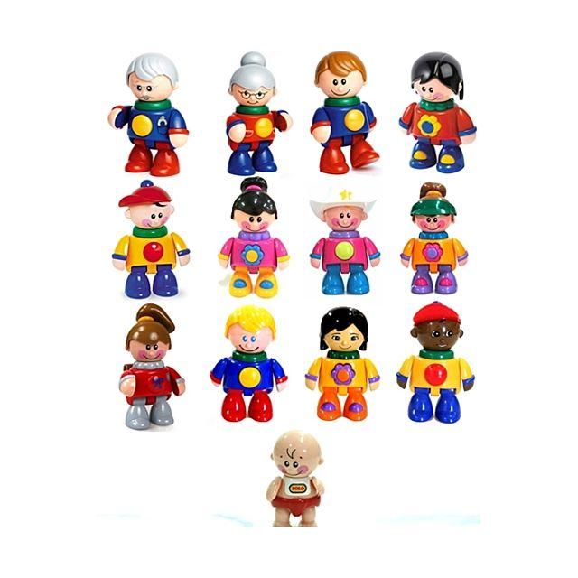 W006D61톨로 내친구 다문화 시리즈 세트 13종 장난감 완구 어린이 아동 유아