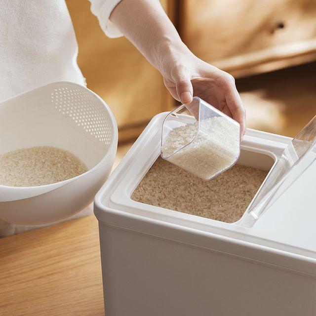 [해외] 쌀통 가정용 저장 방충 습기방지 쌀저장 10kg