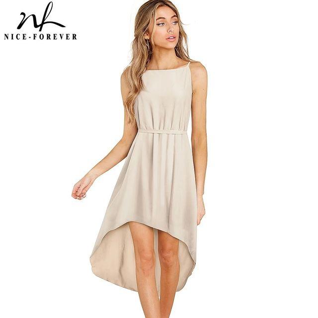 [해외] 니스-영원히 여름 여성 우아한 보헤미안 비치 드레스