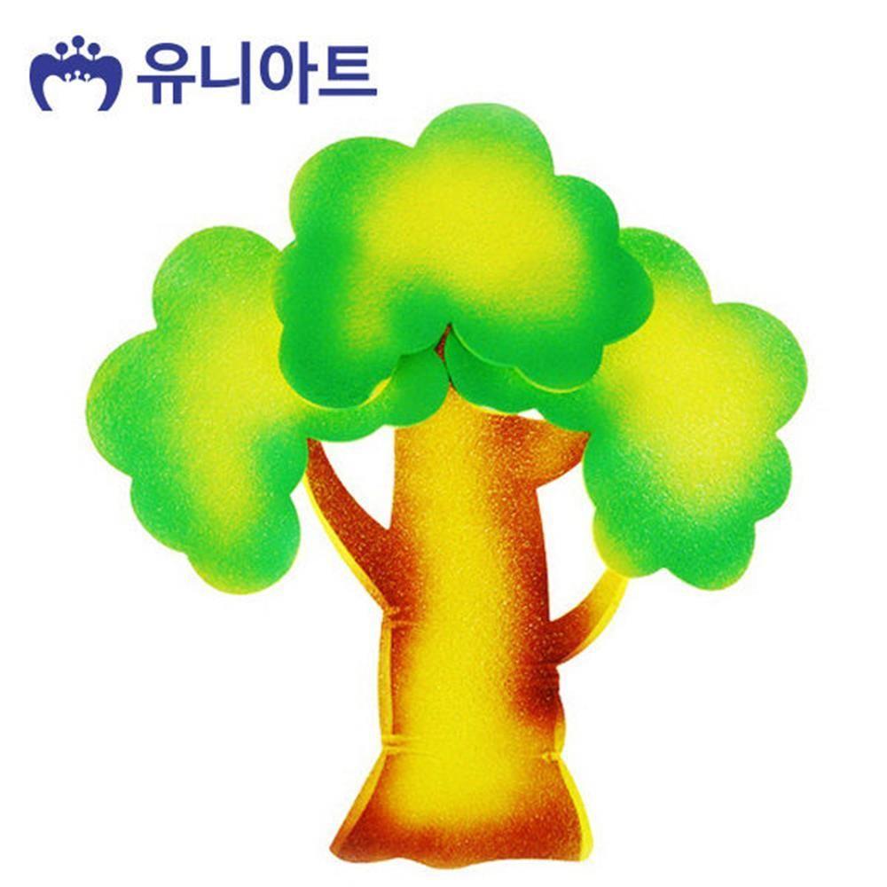 W3DCF2A스티로폼 4000 3색나무 소 P0000BWL 공작 만들기 공예
