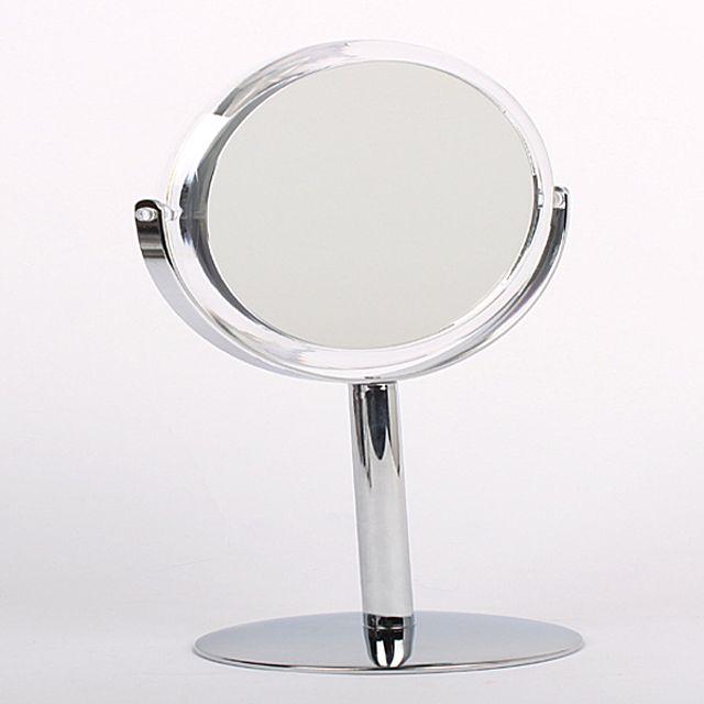 양면원형탁상거울 ST-418 탁상거울 화장대 화장대소품 거울 인테리어 인테리어소품 화장소품 [제작 대량 도매 로고 인쇄 레이저 마킹 각인 나염 실크 uv 포장 공장 문의는 네이뽕]