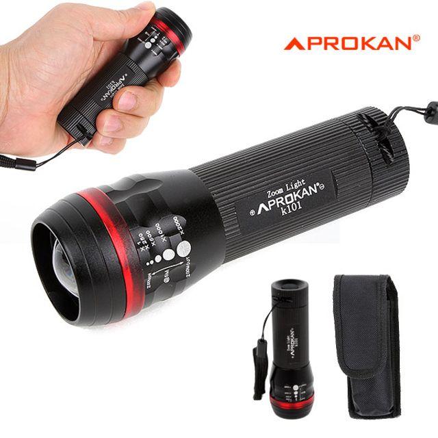프로칸 줌라이트 K101 LED 손전등 후레쉬 랜턴