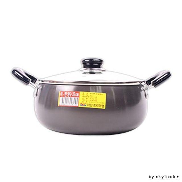 【韩国直邮】UODI双柄厨房汤锅(22cm)