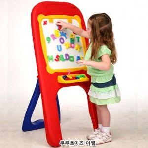 쿠쿠 이젤 자석 놀이 어린이 학습 완구