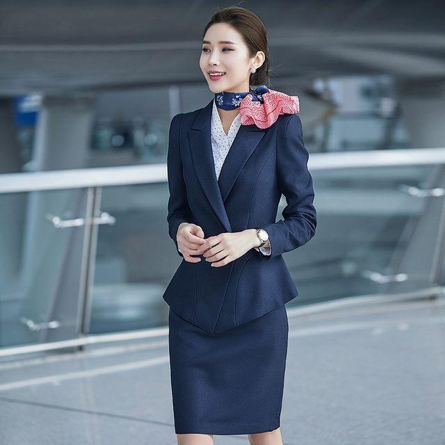 [해외] 여성 패션 재킷 자켓 정장세트션 패션 기질 바지