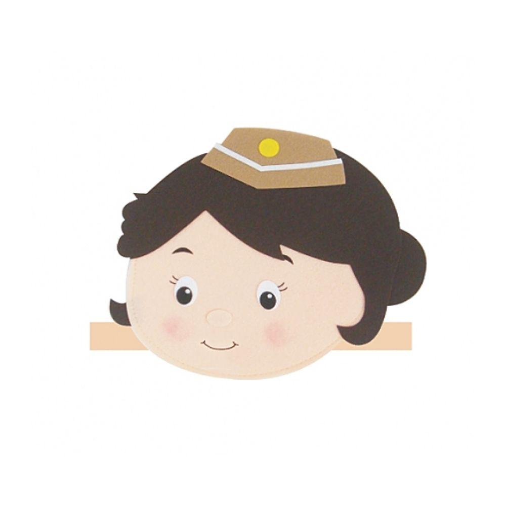 [FB0F51] 머리띠 직업 승무원