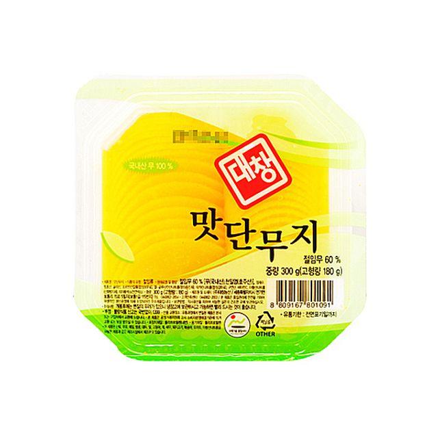 대창농산 맛단무지 300g,대창농산,맛단무지,300g,단무지