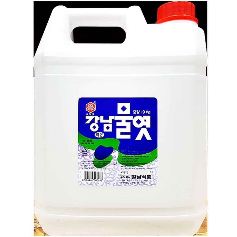 강남 흰물엿 대용량식자재 물엿 (9KgX1개)